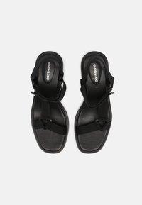 Even&Odd - Platform sandals - black - 5