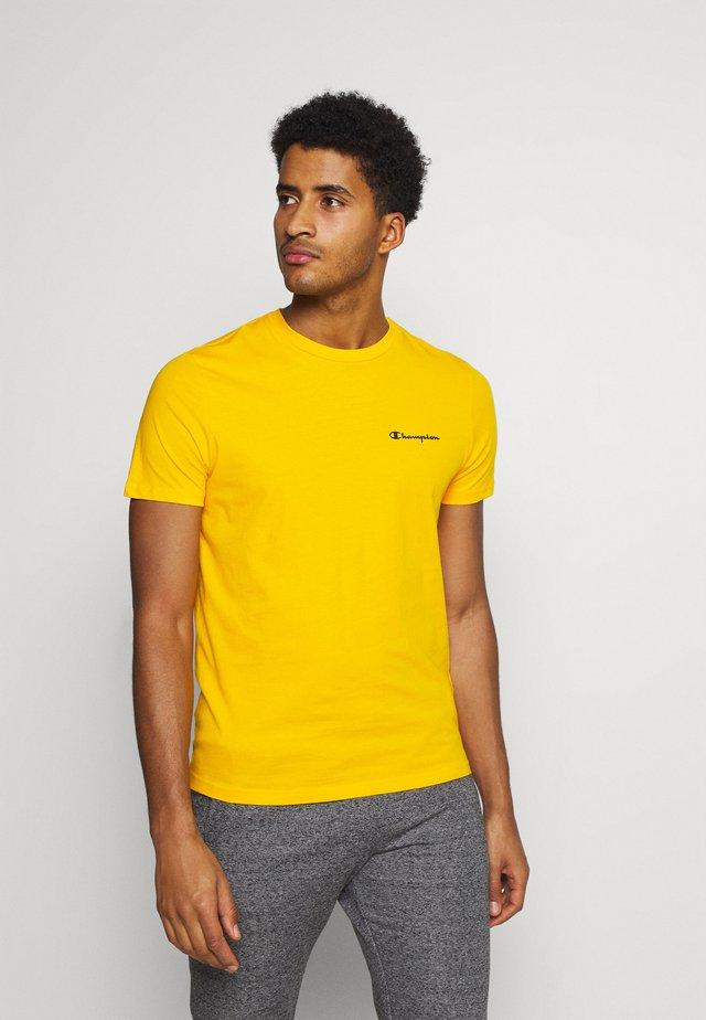CREWNECK - Jednoduché triko - yellow