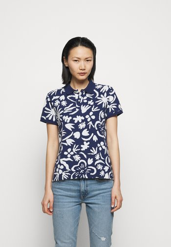 Polo shirt - tropical flor