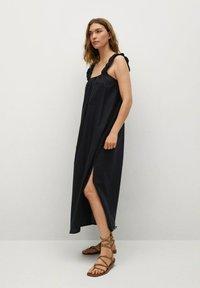 Mango - Day dress - noir - 1