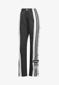 adidas Originals - Dry Clean Only xDENIM ADIBREAK - Flared jeans - black - 4