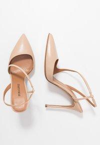Pura Lopez - Zapatos altos - sabbia - 3
