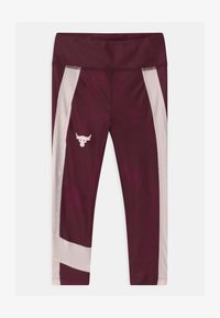Under Armour - PROJECT ANKLE CROP - Trikoot - level purple - 0