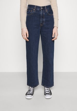RIBCAGE STRAIGHT ANKLE - Straight leg jeans - noe dark mineral