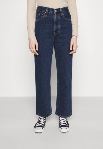 RIBCAGE STRAIGHT ANKLE - Jeans a sigaretta - noe dark mineral