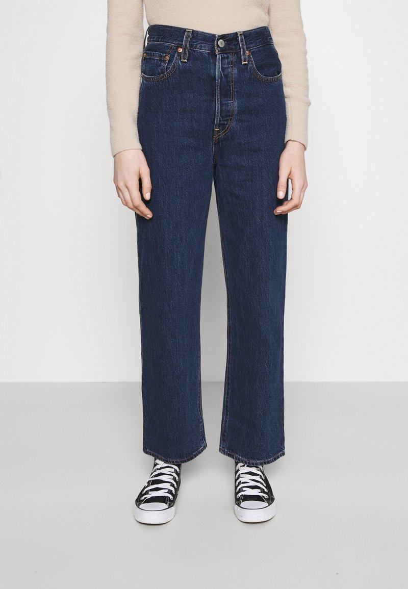 Levi's® - RIBCAGE STRAIGHT ANKLE - Jeans straight leg - noe dark mineral
