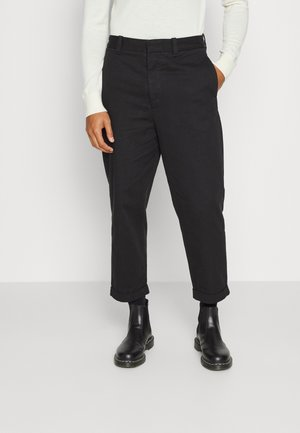 CRATE TROUSER - Trousers - black