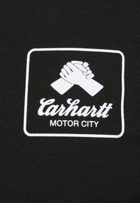 Carhartt WIP - PEACE STATE  - Print T-shirt - black / white - 7