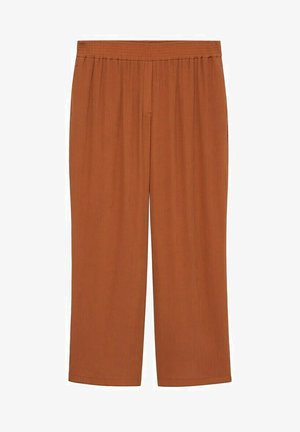 Trousers - orange brûlé