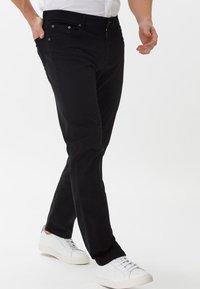 BRAX - STYLE COOPER - Straight leg jeans - perma black - 0