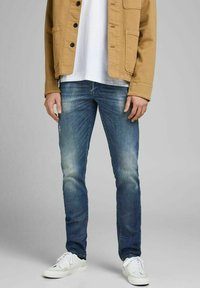 Jack & Jones - Straight leg -farkut - blue denim - 0