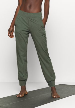 GARUDASANA YOGA TROUSERS - Trainingsbroek - olive