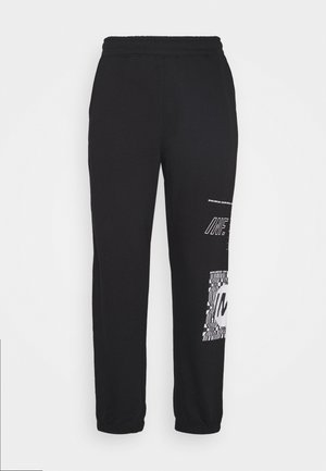 GRAPHIC - Joggebukse - black