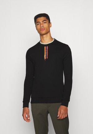 BRUSH STOKE PRINT - Sweatshirt - black/multi-coloured