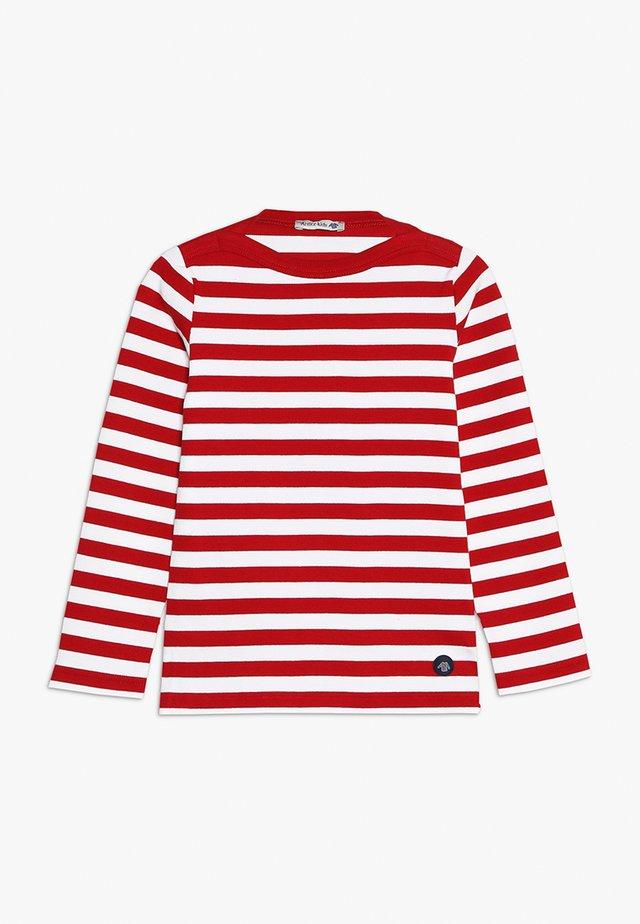 MARINIÈRE TRÉGUNC KIDS - Maglietta a manica lunga - braise/blanc
