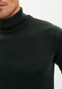 DeFacto - Stickad tröja - green - 4