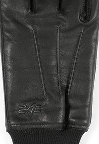 Alpha Industries - GLOVES - Gloves - black - 3