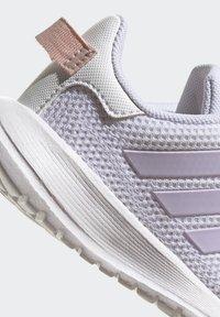 adidas Performance - TENSAUR RUN UNISEX - Neutral running shoes - ftwr white/purple tint/vapour pink - 7