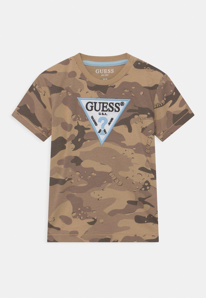 Guess - Print T-shirt - beige