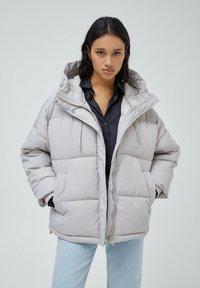 PULL&BEAR - Down jacket - grey - 0