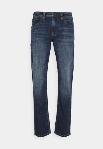 CASH - Jeans straight leg - ark-blue denim