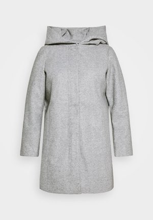 VMDAFNEDORA JACKET - Classic coat - light grey melange