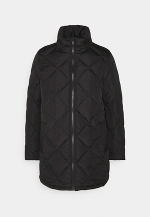 NMLAUDY LONG JACKET - Winter coat - black