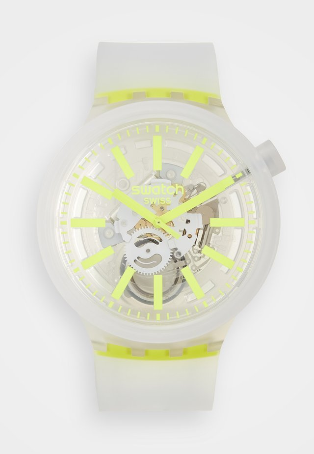 YELLOWINJELLY - Orologio - transparent/yellow