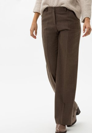 STYLE MAINE - Trousers - cognac