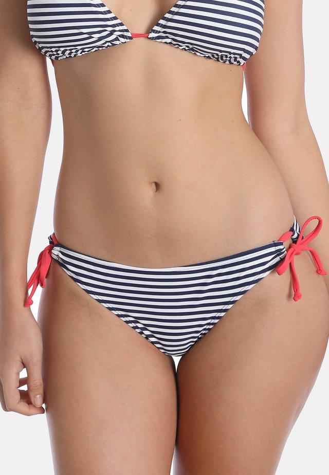 Bikini bottoms - navy/red
