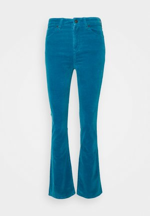TARA - Trousers - blue turquoise