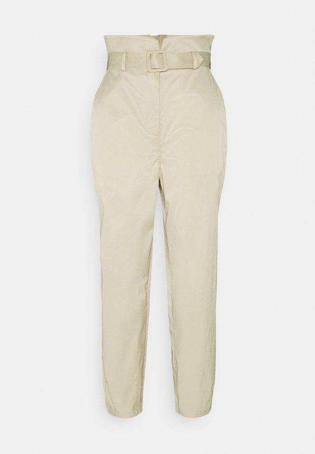 ELLA PANTS - Pantaloni - beige