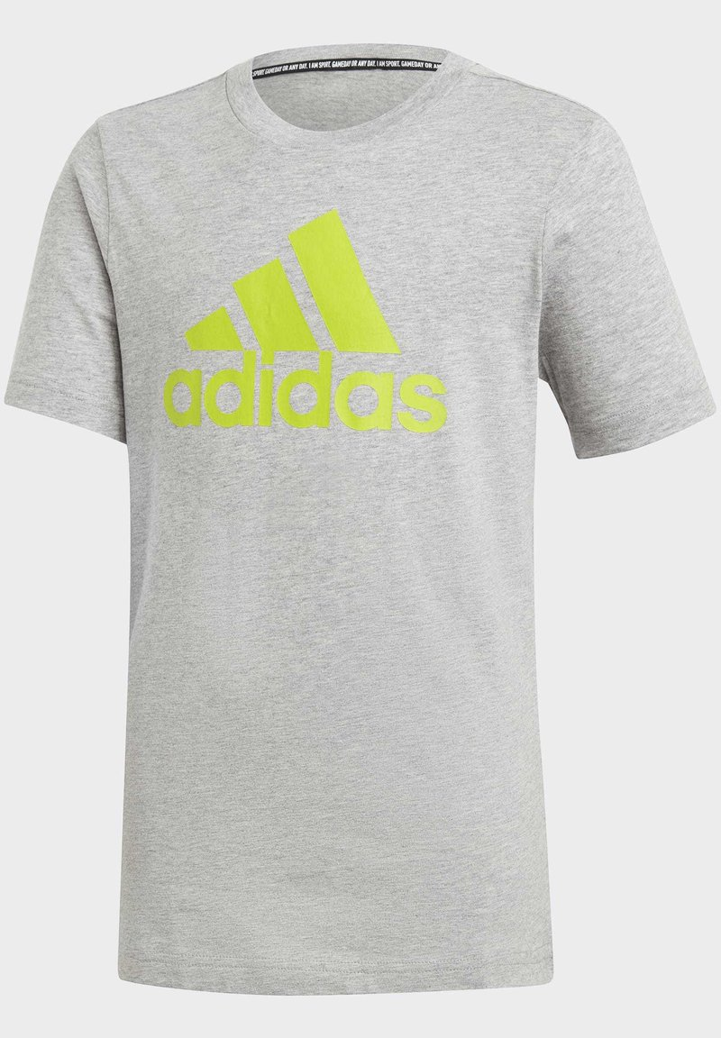 adidas Performance - MUST HAVES  BADGE OF SPORT T-SHIRT - T-shirt print - grey