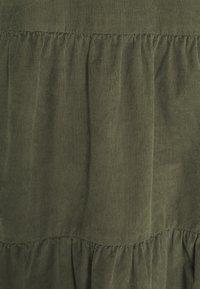 Marc O'Polo DENIM - DRESS GATHERED SKIRT - Day dress - utility olive - 2