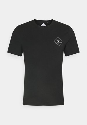 BOX LOGO TEE - T-shirt med print - black