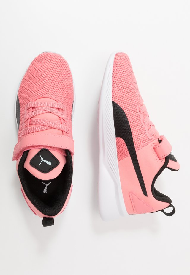 FLYER RUNNER UNISEX - Neutrala löparskor - salmon rose/black/white
