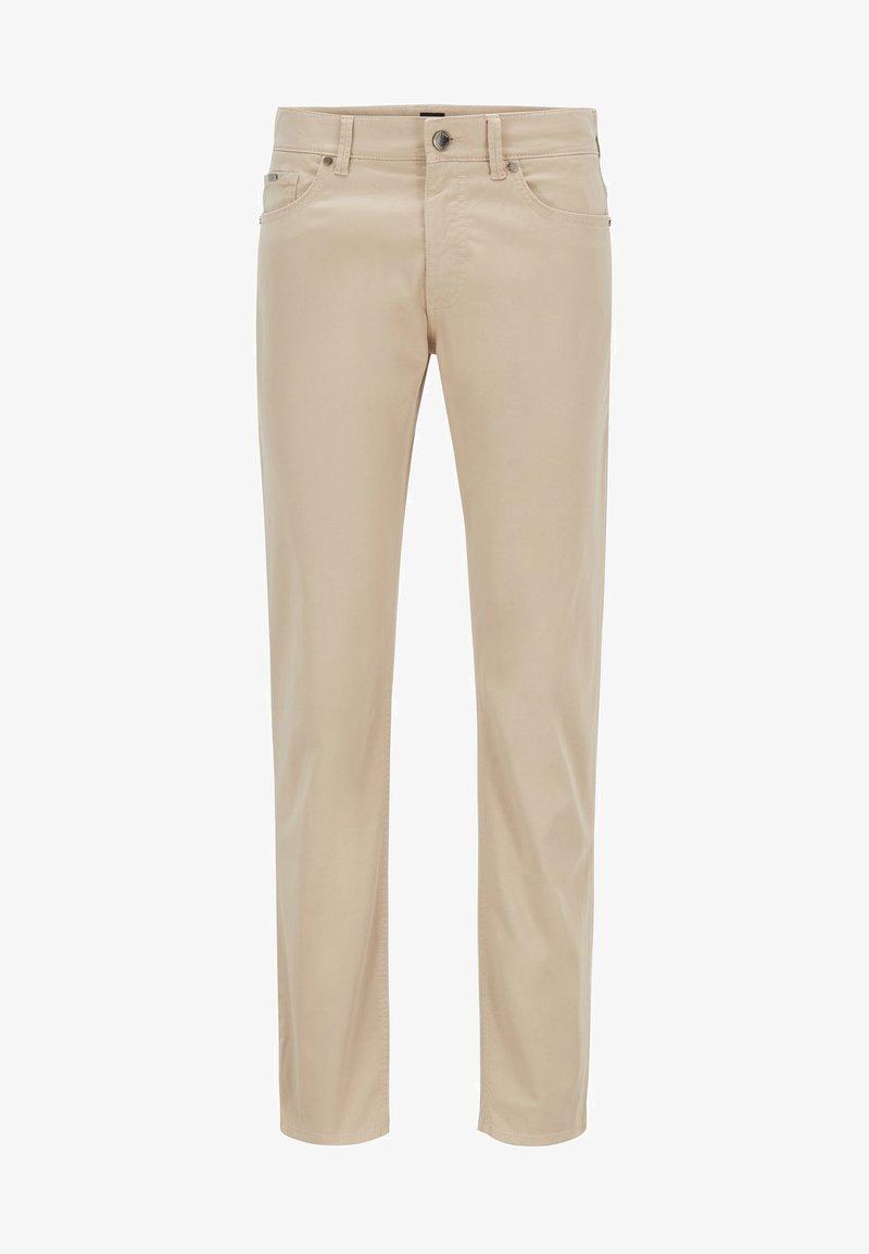 BOSS - DELAWARE - Slim fit jeans - light beige