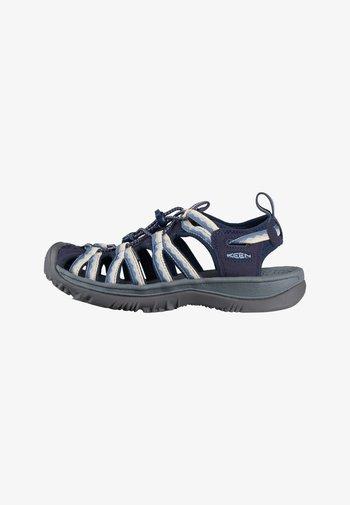 Walking sandals - navy/blue fog
