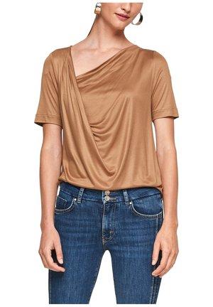 ENCOLURE BÉNITIER - T-shirt basique - brown