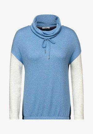 IN COLOURBLOCK - Long sleeved top - blau