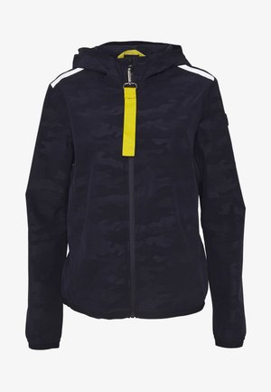 WOMAN JACKET FIX HOOD - Outdoorjas - dark blue