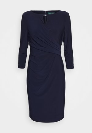 MID WEIGHT DRESS TRIM - Sukienka etui - lighthouse navy