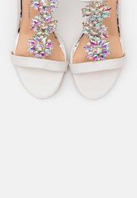 Lulipa London - LIZZIE WEDGE - High heeled sandals - white - 5