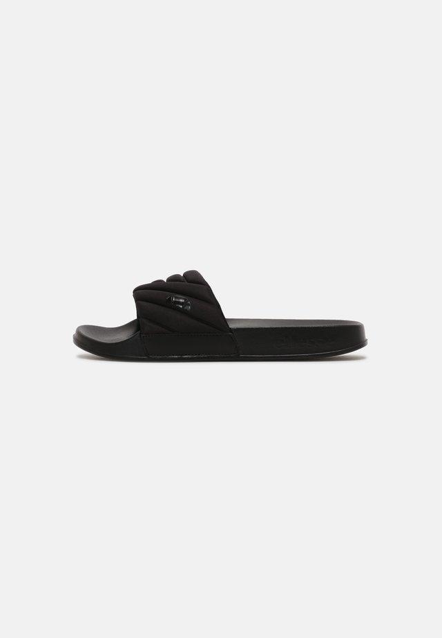 FILIPPO QUILTED - Mules - black/black
