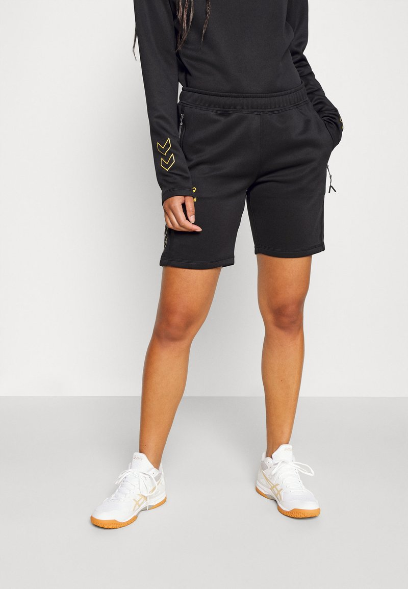 Hummel - CIMA XK SHORTS WOMAN - Sports shorts - black