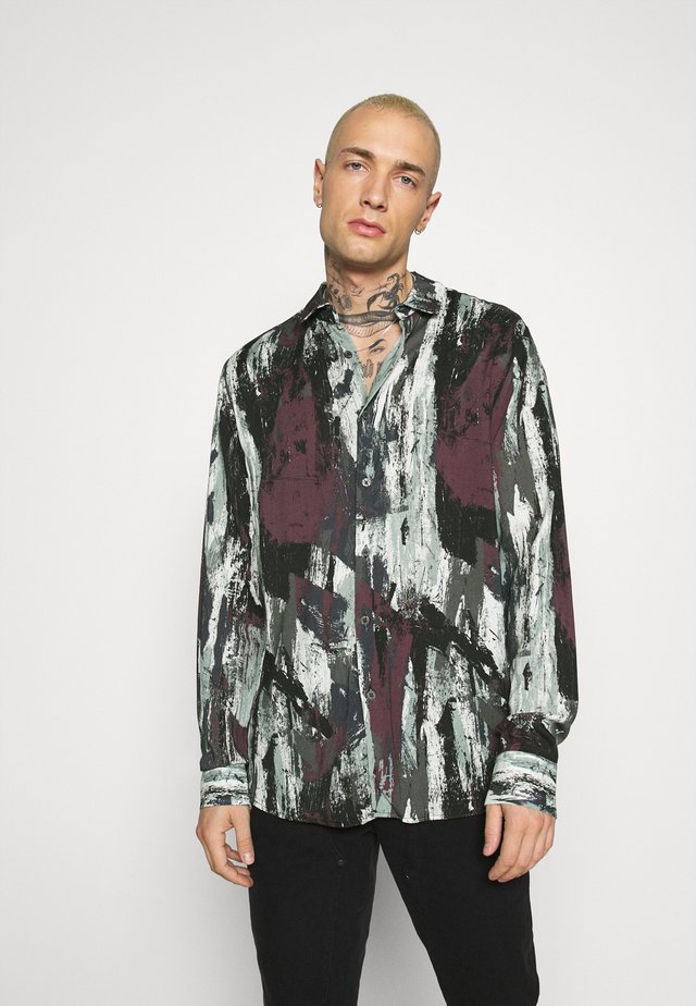 DIGITAL ABSTRACT PAINT CLASSIC COLLAR - Shirt - multi
