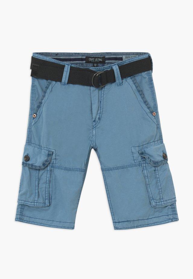 KIDS DURRAS - Pantalones cargo - grey blue