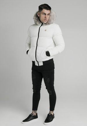 RIP STOP DISTANCE  - Winterjacke - white