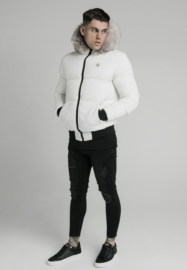 RIP STOP DISTANCE  - Winter jacket - white