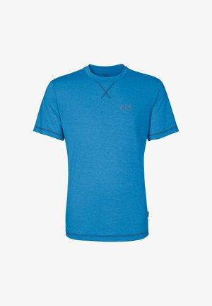 Print T-shirt - brilliant blue